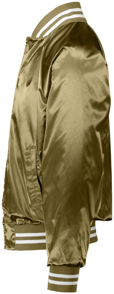 f7df4a59870 3610 Augusta Sportswear Satin Baseball Jacket striped Trim ...