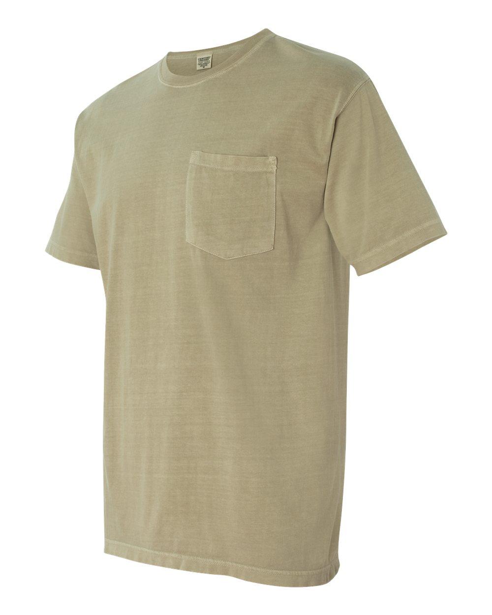 5ae0f1370 6030CC Comfort Colors 6.1 oz. Garment Dyed Pocket T Shirt > T-Shirts
