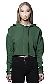 Royal Apparel Women's Fashion Fleece Crop Hoodie