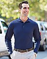 UltraClub Adult Cool & Dry Sport Long-Sleeve Polo
