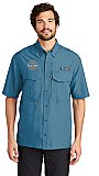 EB608 Eddie Bauer Short Sleeve  Fishing Shirt