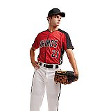 Augusta Sportswear Full Button Baseball Jersey