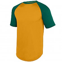 Augusta Sportswear Wicking Short Sleeve Baseball Jersey
