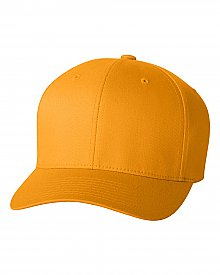 Yupoong Wooly Twill 6 Panel Flexfit Fitted Baseball Cap