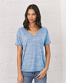 Bella+Canvas Ladies Slouchy V Neck T Shirt