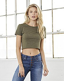 Bella + Canvas Women's Crop Tee