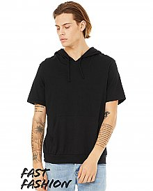 3514C Bella + Canvas Fast Fashion Men's Jersey Short Sleeve Hoodie