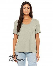 8818B Bella + Canvas Fast Fashion Ladies' Flowy Pocket T-Shirt