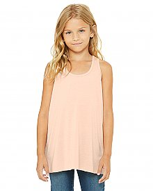 Bella + Canvas Youth Flowy Racerback Tank