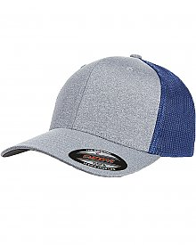 Flexfit Adult Poly M??lange Stretch Mesh Cap