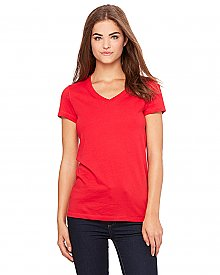Bella + Canvas Women's Jersey V Neck Jersey T Shirt