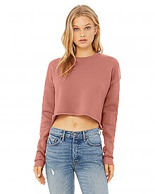 Bella + Canvas Ladies' Cropped Fleece Crew