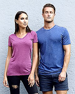 Threadfast Apparel Unisex Vintage Dye Short-Sleeve T-Shirt