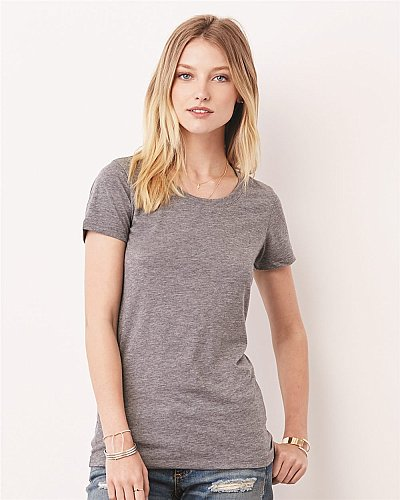 Bella + Canvas Ladies Triblend Short Sleeve T Shirt