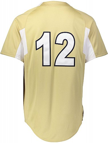 Holloway Game7 Two-Button Baseball Jersey