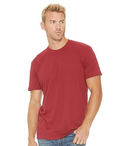 Next Level Men Premium Fitted crew neck T shirt