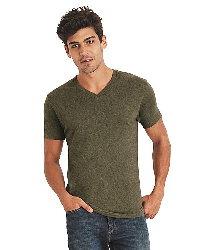 Next Level Men s Tri blend V neck Tee