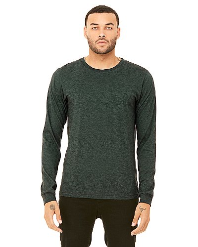 Bella + Canvas Men  Jersey Long Sleeve T Shirt