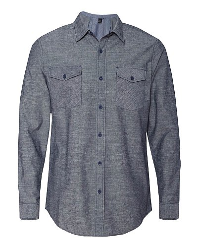 Burnside Chambray Long Sleeve Shirt