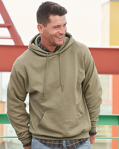 Jerzees 8 oz 50 50 Fleece Pullover Hood Sweatshirt