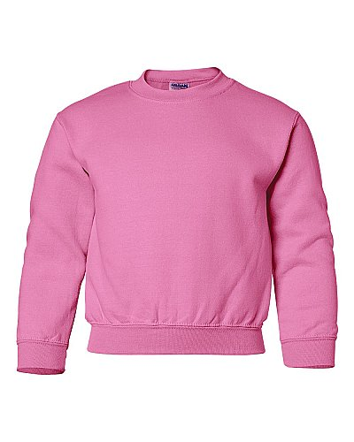 Gildan Youth 7.75 oz. Heavy Blend 50 50 Fleece Crew