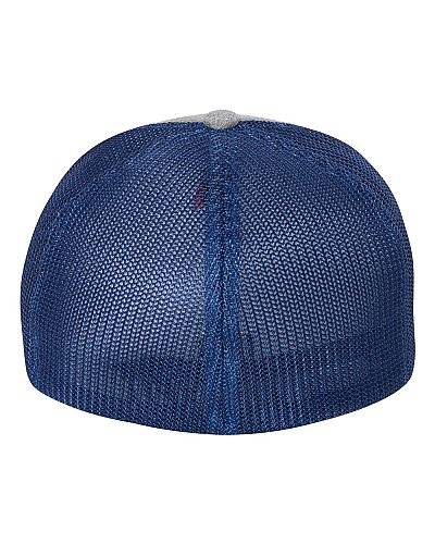 Flexfit Adult Poly Melange Stretch Mesh Cap