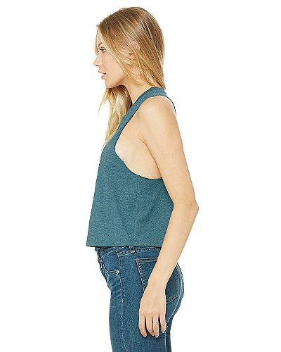 Bella + Canvas Women's Racerback Cropped Tank