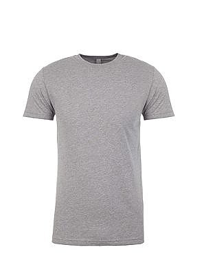 Next Level Premium Fitted Sueded Crewneck t shirt
