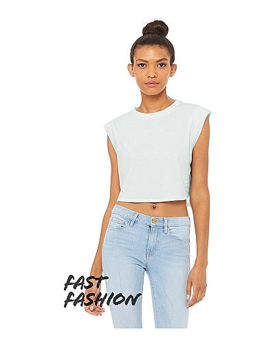 8483B Bella + Canvas Fast Fashion Ladies' Festival Cropped Tank