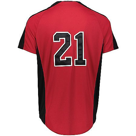 Augusta Sportswear YOUTH Full Button Baseball Jersey