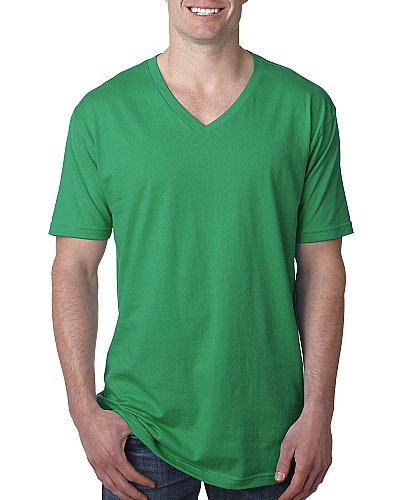 Next Level Men Premium Fitted V neck T shirt