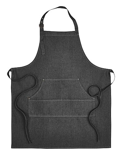 Artisan Collection by Reprime Unisex Jeans Stitch Denim Bib Apron
