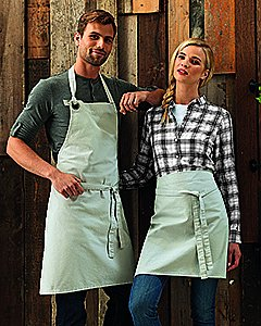 Artisan Collection by Reprime Unisex Calibre Heavy Cotton Canvas Bib Apron