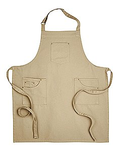 Artisan Collection by Reprime Unisex Cotton Chino Bib Apron